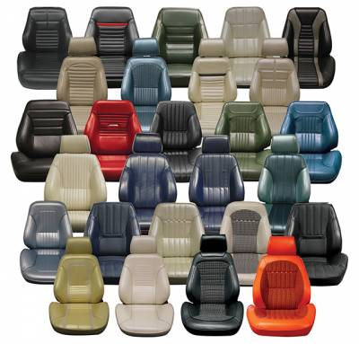 Seats & Upholstery  - Ready To Install Seats - Distinctive Touring II Pre Assembled Seats
