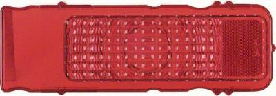 Lighting - Tail Lights, Back Up Lights, Marker Lights - OER - 1968 Camaro Standard Tail Lamp Lens