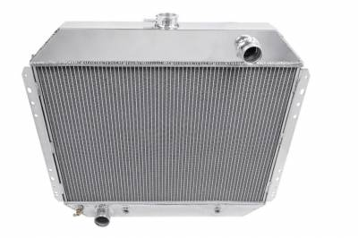Radiators - Aluminum Radiators - American Eagle - American Eagle Two Row All Aluminum Radiator Ford F-Series/Bronco AE433