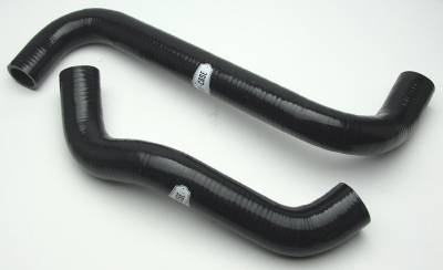 Cooling System - Hoses - Cold Case - Pontiac Radiator Hose 08-09 Pontiac G8 Silicone Black Kit Cold Case Radiators