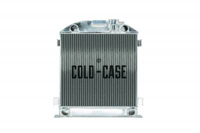Radiators - Aluminum Radiators - Cold Case - 1932 Lowboy Flathead Engine Aluminum Performance Radiator Cold Case Radiators