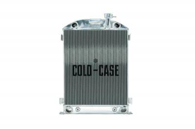 Radiators - Aluminum Radiators - Cold Case - 1932 Highboy Flathead Engine Aluminum Performance Radiator Cold Case Radiators