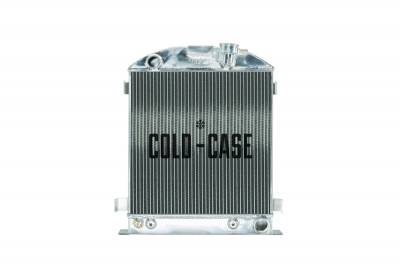 Cold Case - 1932 Lowboy Chevy Engine Aluminum Performance Radiator Cold Case Radiators