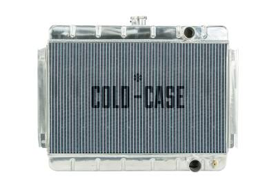 Radiators - Aluminum Radiators - Cold Case - 64-65 Chevelle / El Camino Aluminum Radiator MT Cold Case Radiators