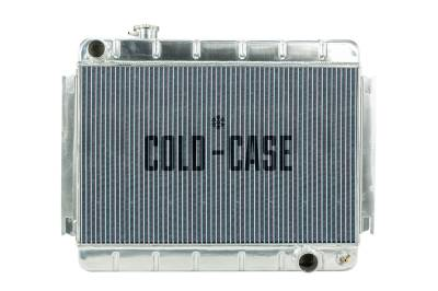 Radiators - Aluminum Radiators - Cold Case - 66-67 Chevelle / El Camino Aluminum Radiator AT Cold Case Radiators