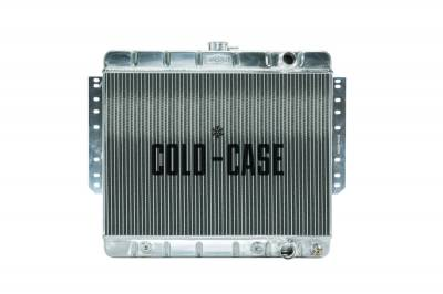 Cold Case - 61-65 Impala Aluminum Radiator Stamped Cold Case Radiators