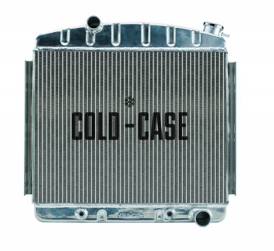 Cold Case - 57 Tri-5 Chevy Aluminum Performance Radiator 6 Cyl (Front Mount) Cold Case Radiators