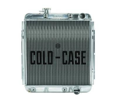 Radiators - Aluminum Radiators - Cold Case - 65-66 Ford Mustang 289 Aluminum Performance Radiator AT Cold Case Radiators