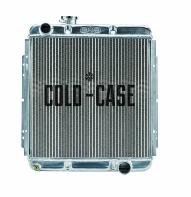 Radiators - Aluminum Radiators - Cold Case - 65-66 Ford Mustang 302 Aluminum Performance Radiator AT Cold Case Radiators