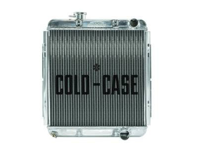 Radiators - Aluminum Radiators - Cold Case - 65-66 Ford Mustang 289 Aluminum Performance Radiator MT Cold Case Radiators