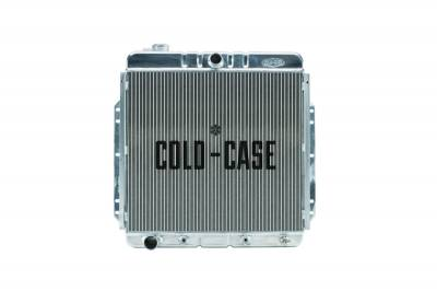 Radiators - Aluminum Radiators - Cold Case - 53-56 Ford F100 Aluminum Performance Radiator Cold Case Radiators