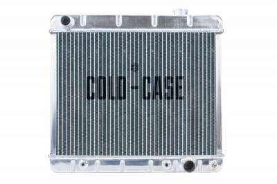 Cold Case - 63-66 Chevy/GMC Pickup Truck Aluminum Radiator AT Cold Case Radiators