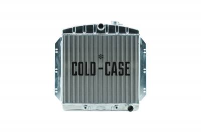 Radiators - Aluminum Radiators - Cold Case - 60-62 Chevy Truck C/K Series Aluminum Performance Radiator Cold Case Radiators