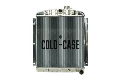 Radiators - Aluminum Radiators - Cold Case - 47-54 Chevy Truck Aluminum Radiator Cold Case Radiators