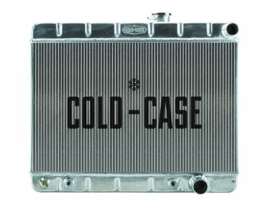 Radiators - Aluminum Radiators - Cold Case - 65 GTO Tri-Power Aluminum Radiator W/O AC AT Cold Case Radiators
