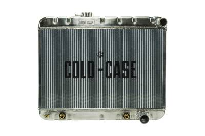 Radiators - Aluminum Radiators - Cold Case - 65 GTO Tri-Power Aluminum Radiator W/O AC MT Cold Case Radiators