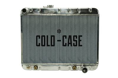 Radiators - Aluminum Radiators - Cold Case - 66-67 GTO Aluminum Radiator W/O AC AT Cold Case Radiators