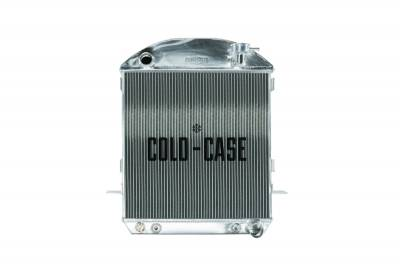 Cold Case - 24-27 T-Bucket Chevy Engine Aluminum Performance Radiator Cold Case Radiators