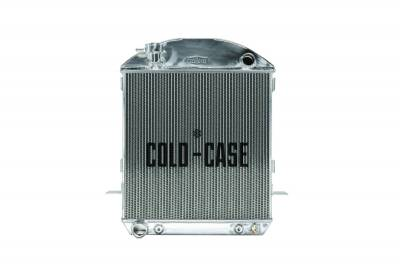 Radiators - Aluminum Radiators - Cold Case - 24-27 T-Bucket Ford Engine Aluminum Performance Radiator Cold Case Radiators
