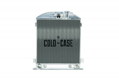 Radiators - Aluminum Radiators - Cold Case - 1932 Lowboy Ford Engine Aluminum Performance Radiator Cold Case Radiators