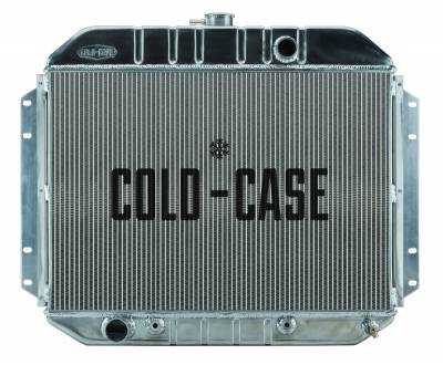 Cold Case - 61-64 Ford F-100 Aluminum Performance Radiator Cold Case Radiators