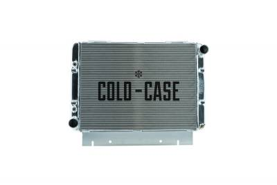 Cold Case - 60-63 Galaxie Side Tank Aluminum Performance Radiator Automatic Transmission Cold Case Radiators
