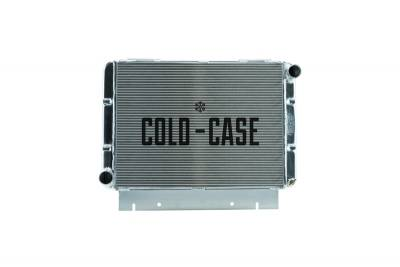 Cold Case - 60-63 Galaxie Side Tank Aluminum Performance Radiator Manual Transmission Cold Case Radiators
