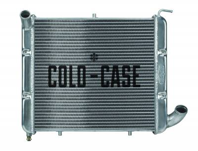 Cold Case - 63-68 Corvette SB Aluminum Performance Radiator Cold Case Radiators