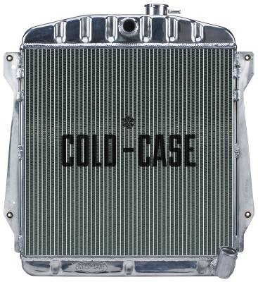 Radiators - Aluminum Radiators - Cold Case - 43-48 Chevy Car Aluminum Radiator Cold Case Radiators
