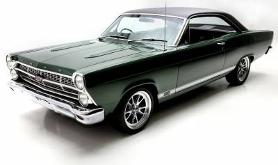Ford Fairlane Touring II Seats