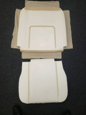Seat Upholstery - Bucket Seat Upholstery - Distinctive Industries - 1962-63 IMPALA FRONT BUCKET SEAT FOAM (1 SEAT)