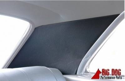 TMI Products - 1967 Chevelle Coupe Replacement Headliner Sail Panel and visor Kit - Image 2