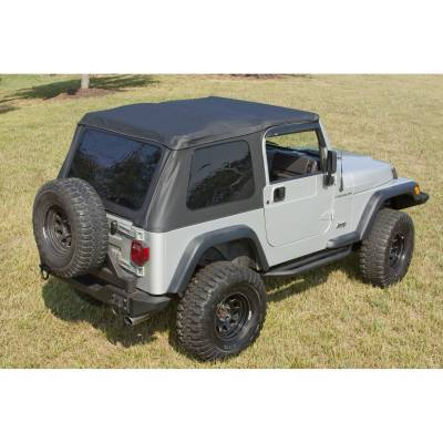 Exterior - Tops And Accessories - Rugged Ridge - Soft Top & Windshield Channel for Jeep Wrangler 1997-2006