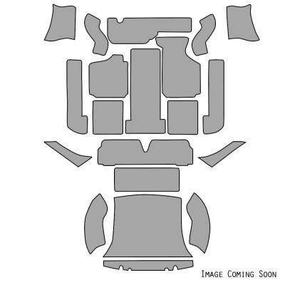 Volkswagen - Carpet Kits - VW Carpet Kit 20pc. (With Footrest) 1969-74 VW Ghia Sedan