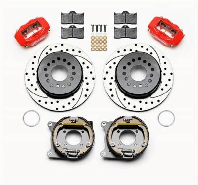 Brakes - Brake Systems - Wilwood Brakes - Wilwood Forged Dynalite Pro Series Rear Disc Parking Brake Kits 140-9315-DR