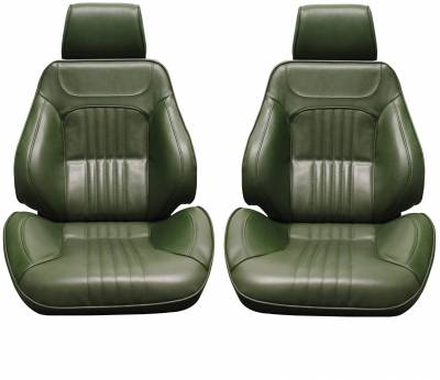Distinctive Touring II Pre Assembled Seats - Chevelle/El Camino Touring II Seats - Distinctive Industries - 1971-72 Chevelle & El Camino Touring II Front Bucket Seats Assembled