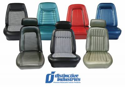 Seats & Upholstery  - Ready To Install Seats - Distinctive OE Reclining Assembled Seats