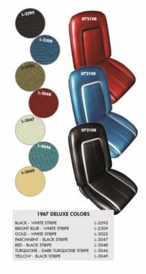 Distinctive Industries - 1967 Camaro Deluxe OE Reclining Front Bucket Seats - Image 3