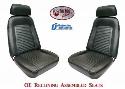 Distinctive Industries - 1969 Camaro Standard OE Reclining Front Bucket Seats - Image 1