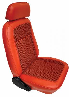 Distinctive Industries - 1969 Camaro Deluxe Houndstooth OE Reclining Front Bucket Seats - Image 2