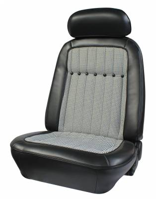 Distinctive Industries - 1969 Camaro Deluxe Houndstooth OE Reclining Front Bucket Seats - Image 3