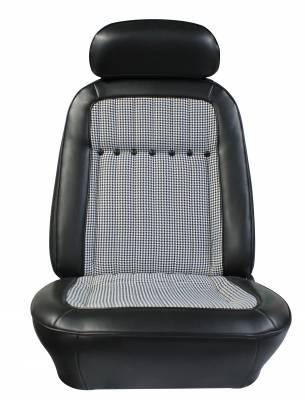 Distinctive Industries - 1969 Camaro Deluxe Houndstooth OE Reclining Front Bucket Seats - Image 4