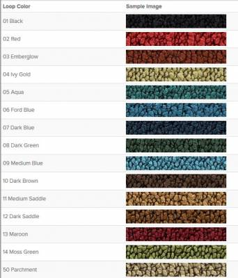 Auto Custom Carpets, Inc. - Molded Carpet for 1965 - 1968 Ford Mustang, Your Choice of Color - Image 3
