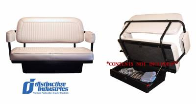 Seats & Upholstery  - Ready To Install Seats - Distinctive Bronco Rear Assembled Jump Seat
