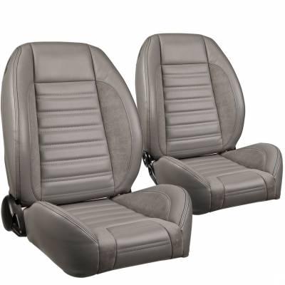 TMI Products - TMI Pro Series Sport R Low Back Bucket Seats - Universal - Image 4