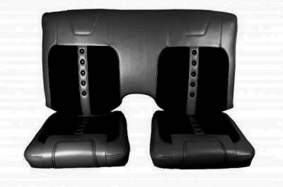 TMI Pro Series Seats - Camaro - TMI Products - TMI Pro Series Sport XR Rear Seat Upholstery for Camaro