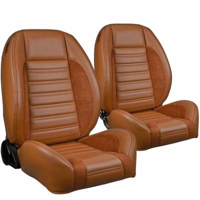 TMI Products - TMI Pro Series Sport R Low Back Bucket Seats for Barracuda - Image 11