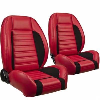 TMI Products - TMI Pro Series Sport R Low Back Bucket Seats for Barracuda - Image 10