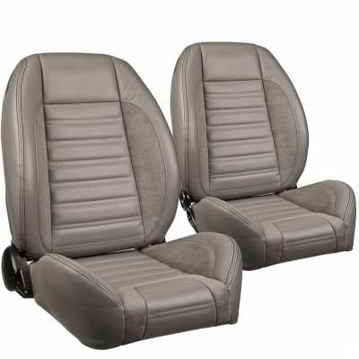 TMI Products - TMI Pro Series Sport R Low Back Bucket Seats for Barracuda - Image 9