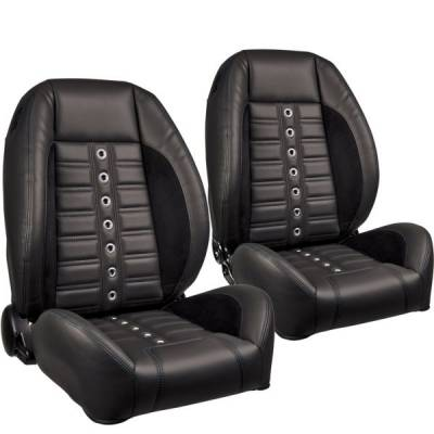 Camaro Upholstery - Pre-Assembled Bucket Seats - TMI Products - TMI Pro Series Sport XR Low Back Bucket Seats for Barracuda
